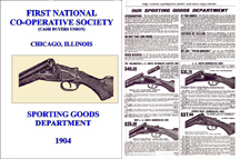 First Nat'l Co-Op Society, Chicago 1904 Gun Catalog