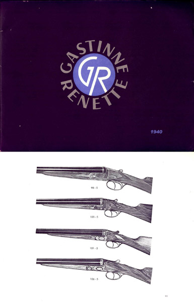 Gastinne Renette (Paris) 1940 Gun Catalog