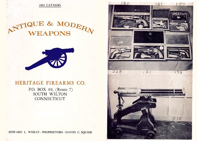 Heritage Firearms, Wilton, CT 1964 Gun Catalog