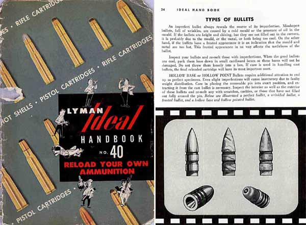 Ideal-Lyman 1955 No. 40 Ammunition and Reloading Catalog