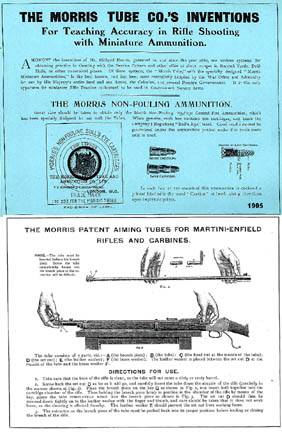Morris Tube 1905 Gun Sighting Practice Catalog