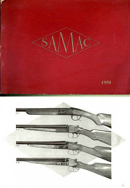 Samac (Paris) 1950 Gun Catalog