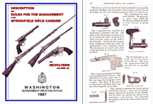 Springfield 1887 Rifle, Carbine & Army Revolvers Cal .45 Manual