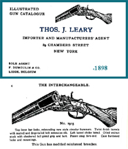 Thos. Leary of New York 1898 Gun Catalog