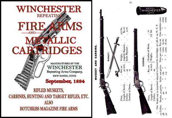 Winchester 1884 September Gun Catalog