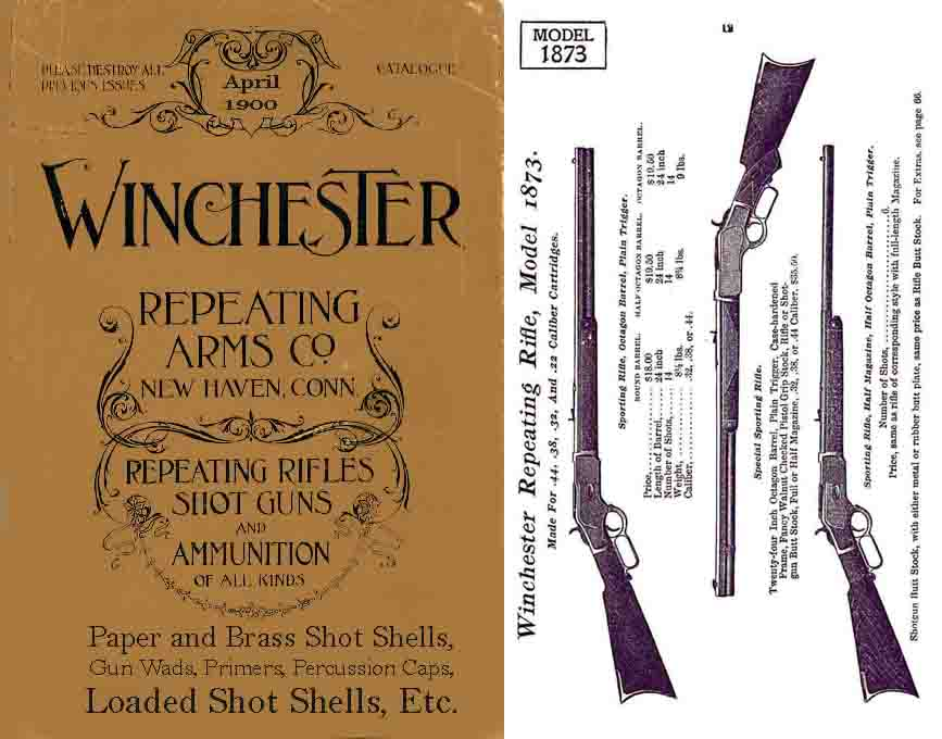 Winchester 1900 April Gun Catalog No. 65