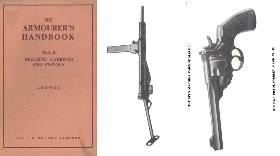 The Armourer's Handbook Part II- Machine Carbines & Pistols c1940