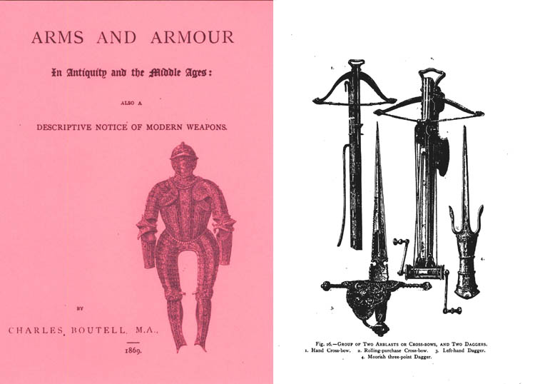 Arms and Armour In Antiquity & the Middle Ages 1869 Desc. of Modern Weapons