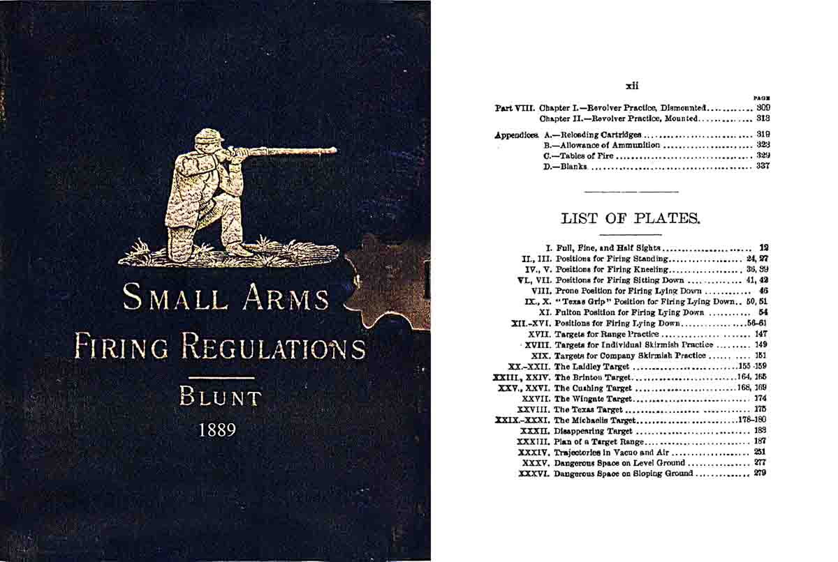 Firing Regulations for Small Arms 1889 3rd ed. for the U.S. Army