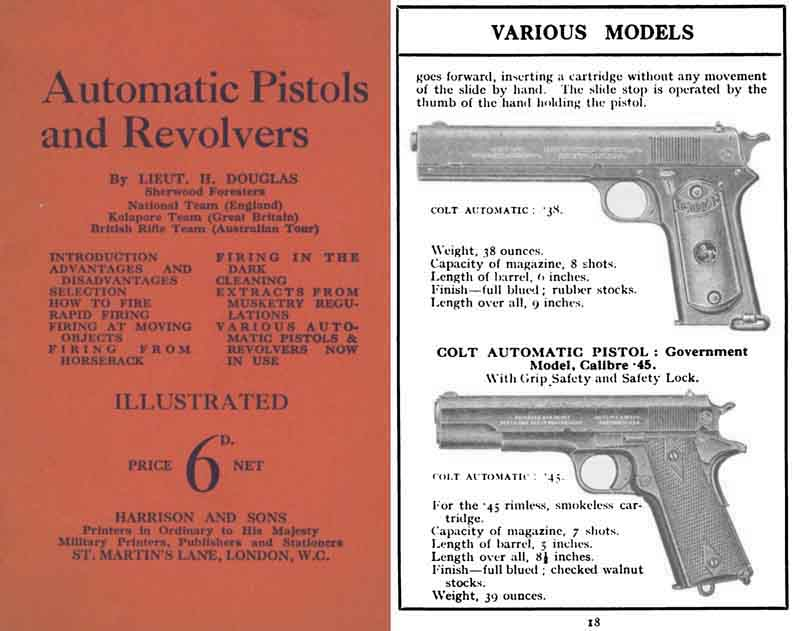 Automatic Pistols & Revolvers Manuals c1940 (UK)- Manual