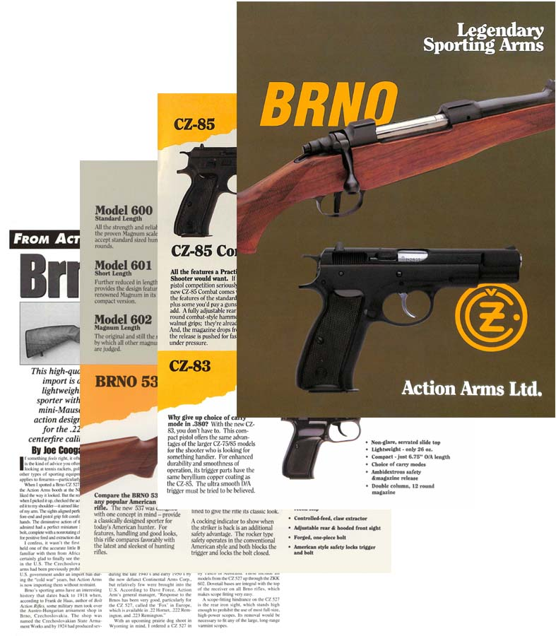 Action Arms Ltd- BRNO 1992 Legendary Sporting Arms