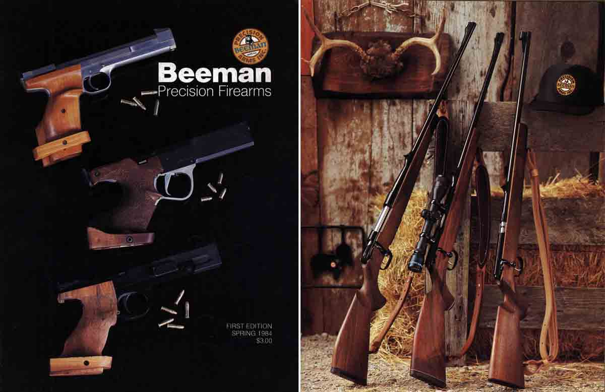 Beeman 1984 First Edition Firearms Catalog