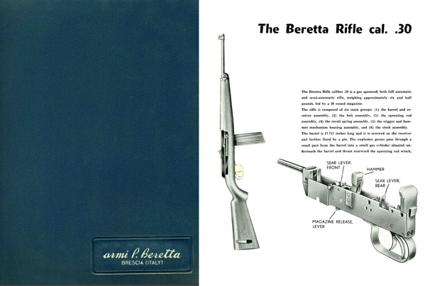 Beretta, Armi P. c1957 Military & Police Weapons