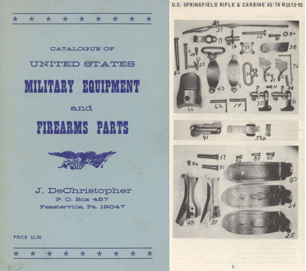 Catalogue of U.S. Military Equipment 1969 De Christopher
