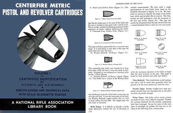 Centerfire Metric Pistol and Revolver Cartridges 1948