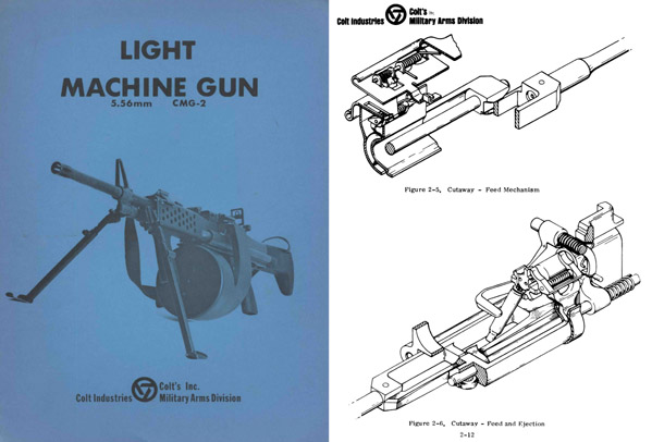 Colt 1971 CMG-2 Machine Gun Manual