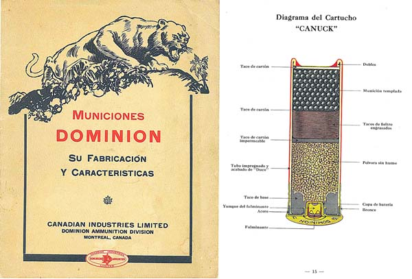 Dominion ammunition c1929 cil in spanish for sale at for Amo manufacturing spain