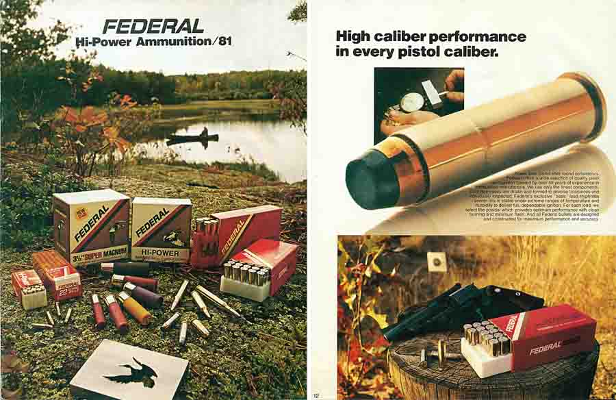 Federal 1981 Ammunition Catalog
