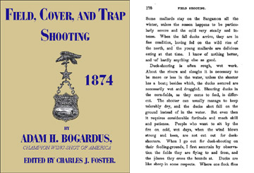 Field, Cover and Trap Shooting 1874 (US)