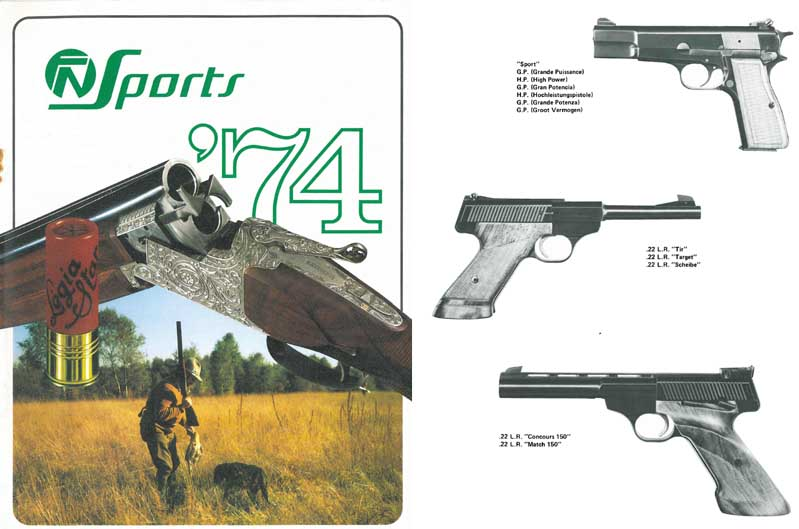 FN 1974  Sporting Arms Catalog