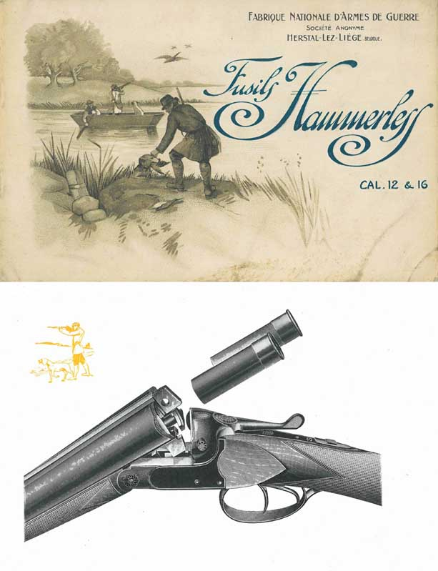 Browning 1924 (circa) Fabrique Nationale (FN) Shotgun Catalog