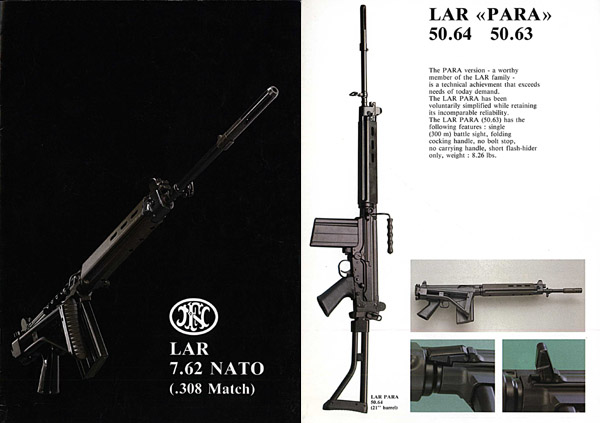 FN 7.62mm FAL (Light Infantry Rifle - LAR) Catalog