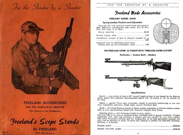 Freeland, Al c1955 Shooting Accessories, Rock Island, IL