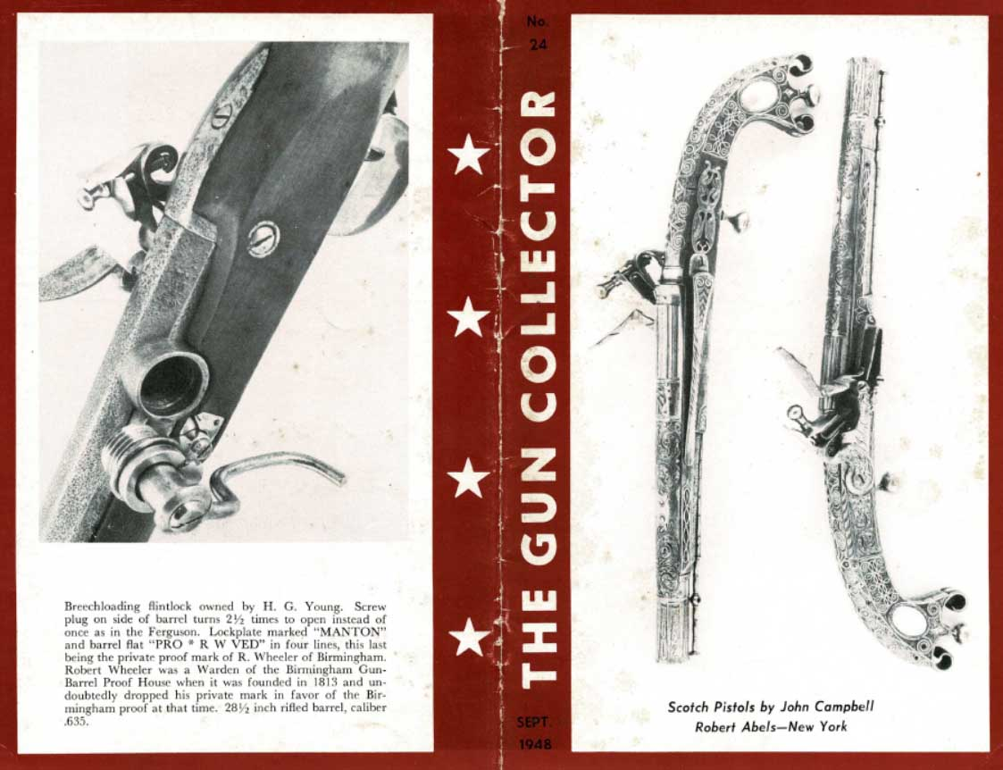 The Gun Collector No 24 Sept. 1948