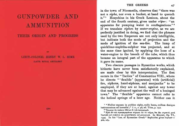 Gunpowder and Ammunition- Their Origins 1904