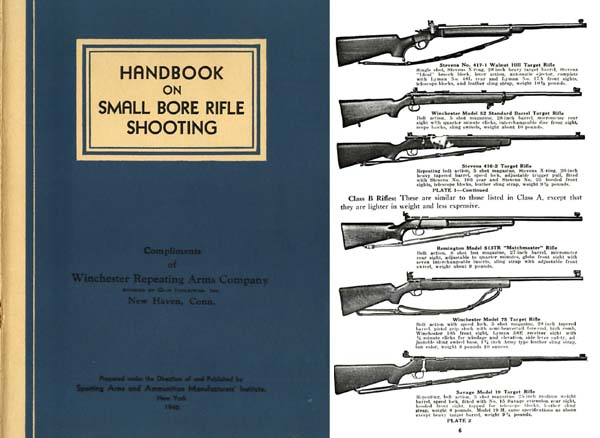 Handbook on Small Bore Rifle Shooting 1946 - Whelen