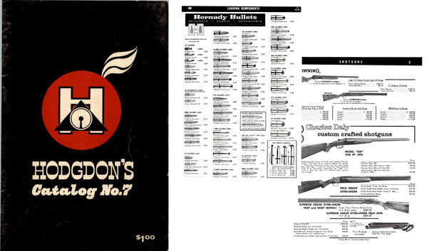 Hodgdon's, BE c1963 No. 7 Guns, Reloading, Access. Shawnee Mission KS