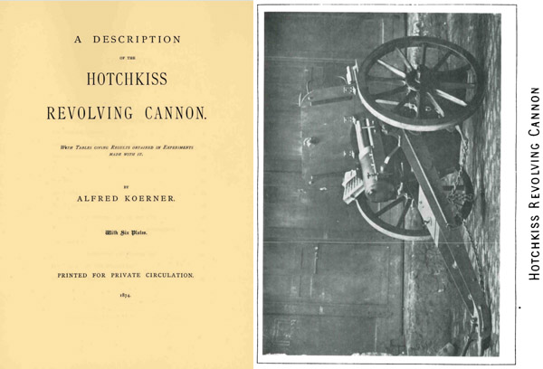Hotchkiss 1874 Revolving Cannon- A Description 37mm- Manual