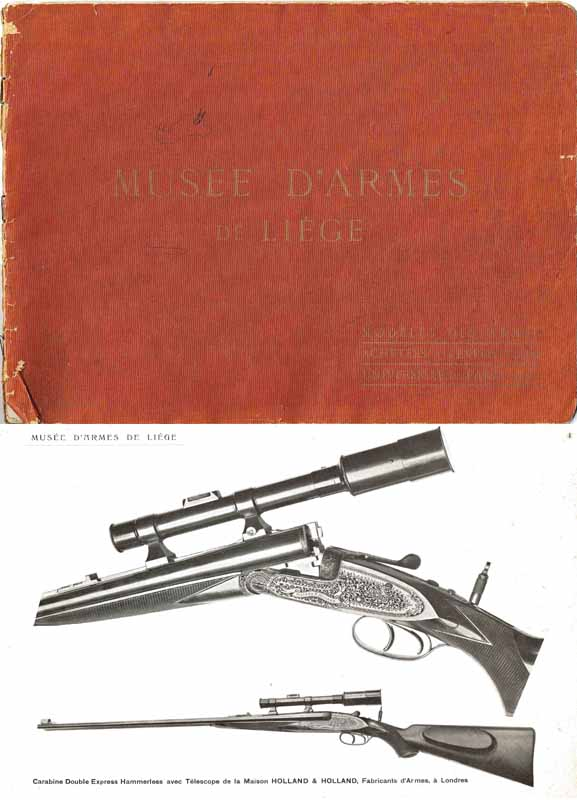 Musee d'Armes de Liege 1900- Best Guns of the Year