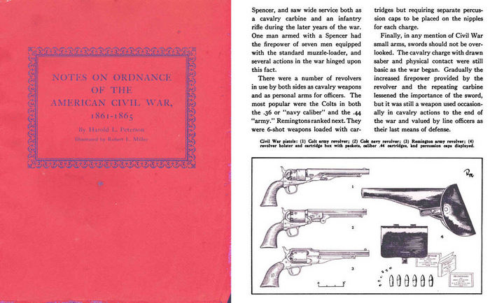 Notes on Ordnance of the American Civil War-1959 American Ord. Assn.