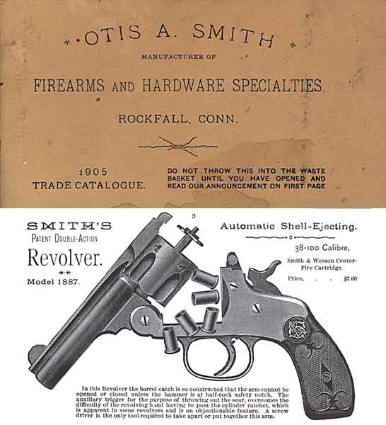 Otis Smith 1905 Firearms and Hardware Catalog (Rockfall, CT)
