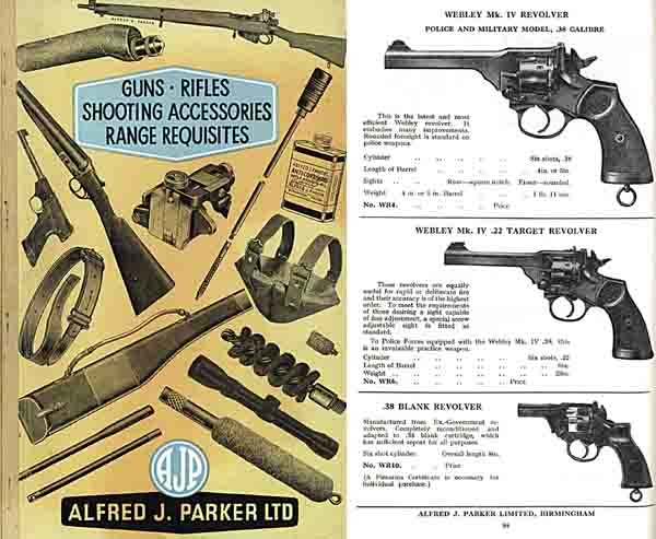 Parker, A.J. 1966 Shooting Accessories