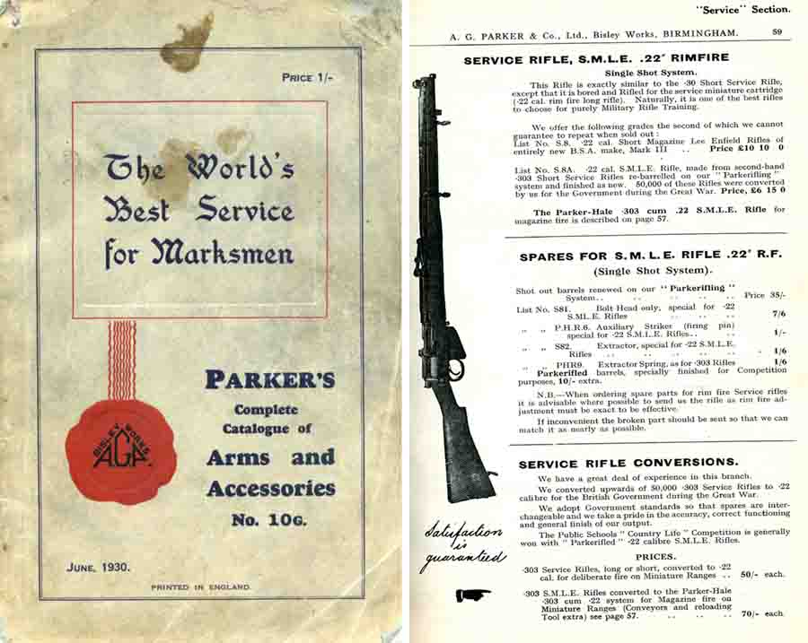 Parker 1930, A.G. & Co. - June 1930 Gun Accessories Catalogue