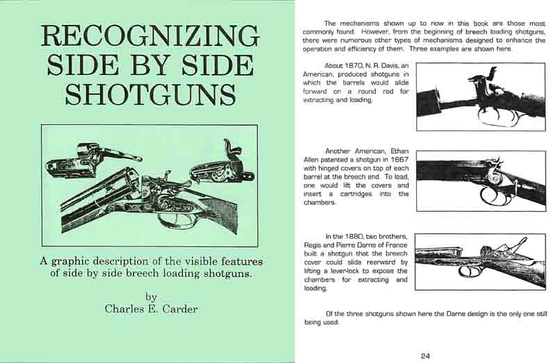 Recognizing Side by Side Shotguns - Carder