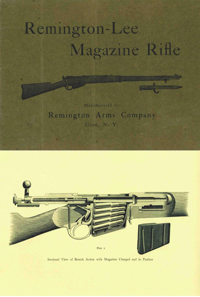 Remington Lee c1885 Magazine Rifle Manual