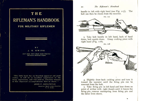 Rifleman's Handbook for Military Riflemen 1904
