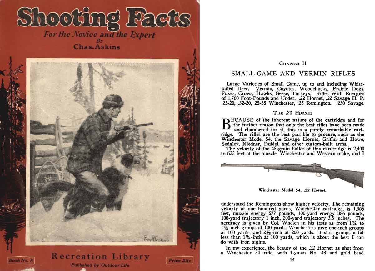 Shooting Facts 1928 (reprinted 1935)- Charles Askins