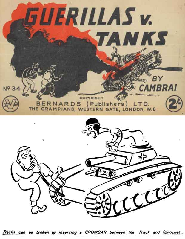 Guerillas V. Tanks c1940 Illustrated Manual (UK)
