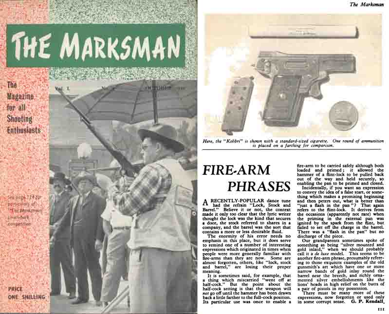 The Marksman- Oct 1950 (UK Magazine)