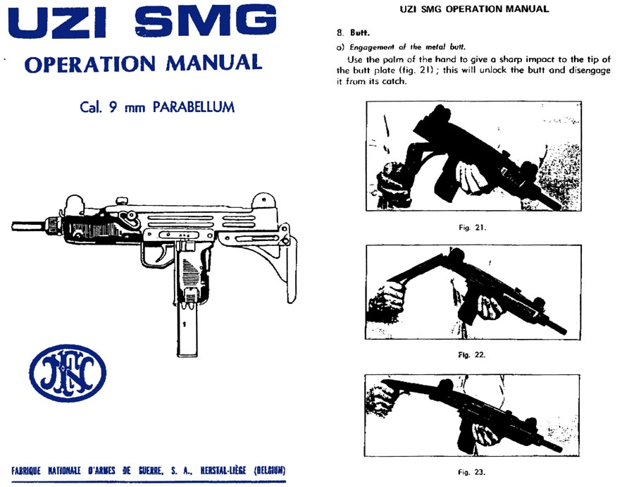 UZI-FN SMG Operations Manual