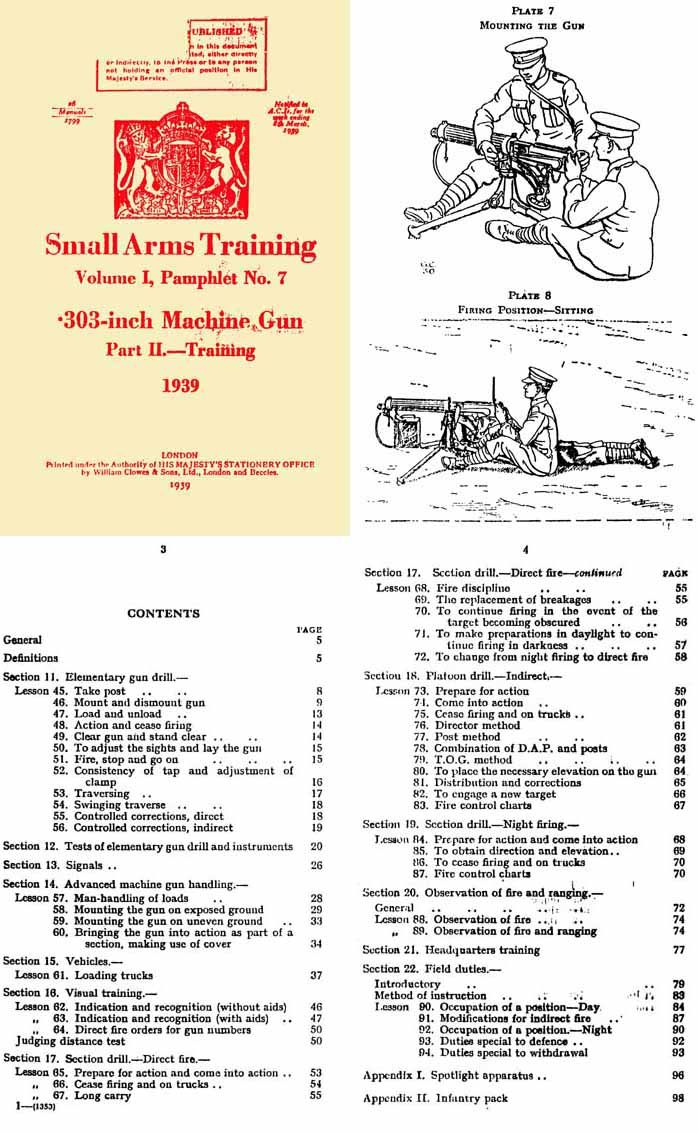 Vickers 1939 .303 Machine Gun Part 2 Small Arms Training Vol 1 #7