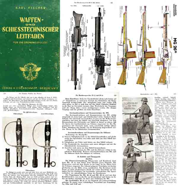 Arms and Shooting Technical Guide for the Order Police 1943 German