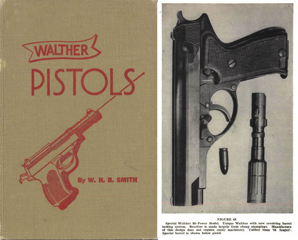 Walther Pistols 1946 by W. B. Smith