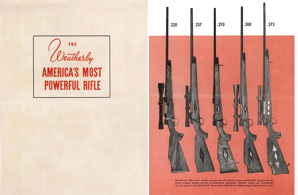 Weatherby 1951 Rifles