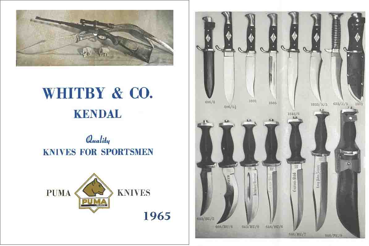 Whitby & Co. Kendal Knives 1965 (UK)