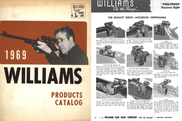 Williams 1969 Gun Sights Catalog, Davison, MI